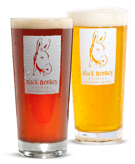 Black Donkey Brewing Beer Glasses