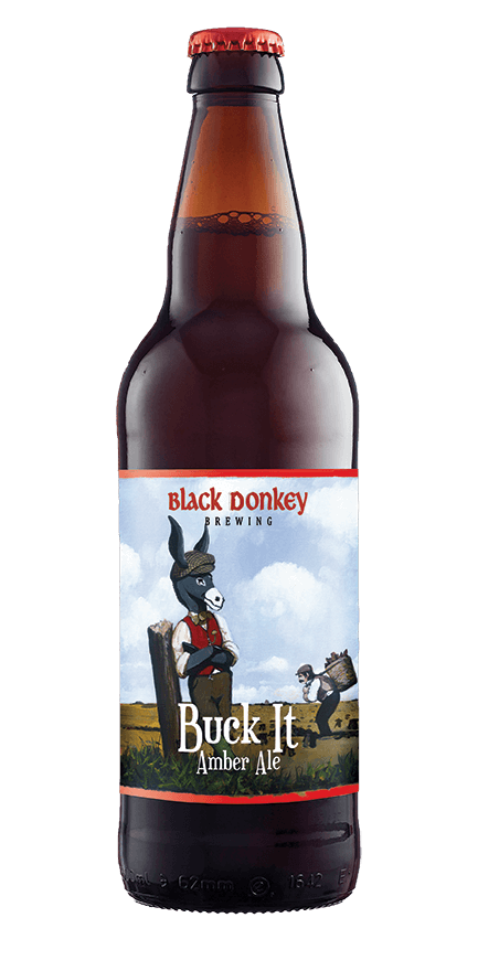 Buck it Beer Bottle from Black Donkey Brewing