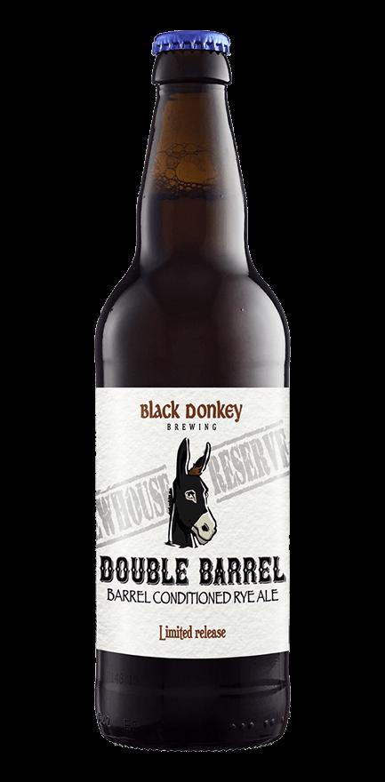 Double Barrel Beer Bottle