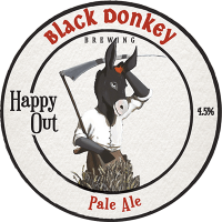 Happy Out bar tap badge