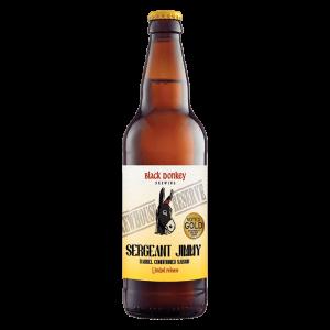 Sergeant Jimmy Beer Bottle