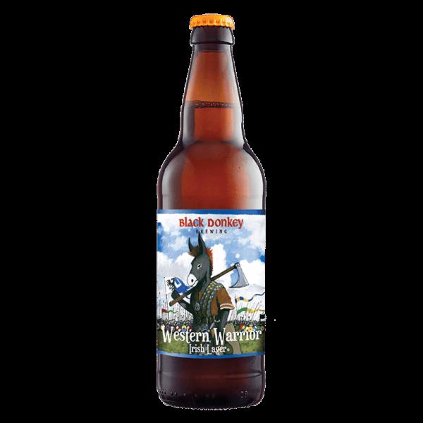 Western Warrior Beer Bottle