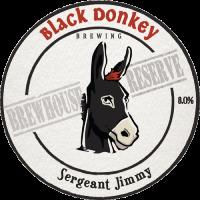 Sergeant Jimmy bar tap badge