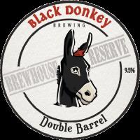 Double Barrel bar tap badge
