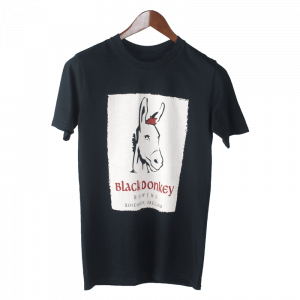 Front Side of Black Donkey Brewing Tshirt